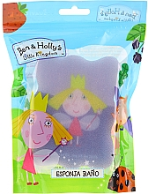Düfte, Parfümerie und Kosmetik Kinder-Badeschwamm Ben & Holly Prinzessin Holly violett-blau - Suavipiel Ben & Holly Bath Sp