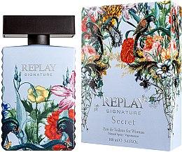 Düfte, Parfümerie und Kosmetik Replay Signature Secret - Eau de Toilette