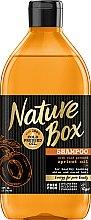 Düfte, Parfümerie und Kosmetik Shampoo mit 100% kaltgepresstem Aprikosen-Öl - Nature Box Apricot Oil Shampoo