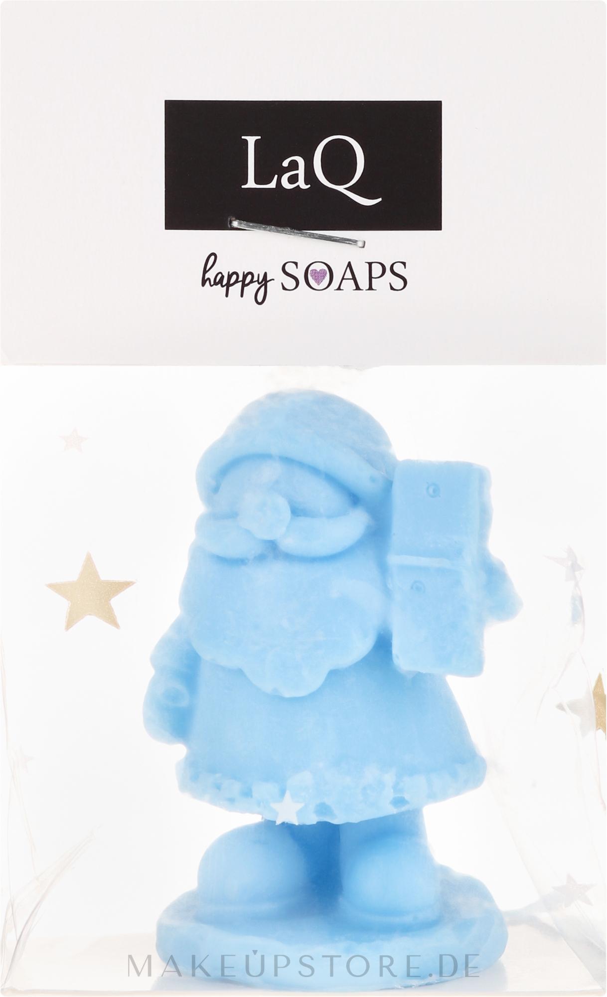 Handgemachte Naturseife Nikolaus mit Fruchtduft - LaQ Happy Soaps Natural Soap — Bild 30 g