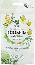 Düfte, Parfümerie und Kosmetik Natürliche Shampoo-Tabletten - Ben&Anna Tonic Natural Shampoo Tablets
