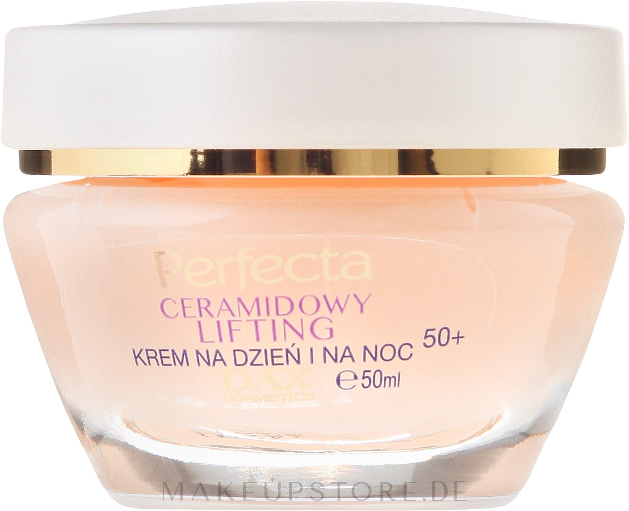 Anti-Aging Gesichtscreme - Perfecta Ceramid Lift 50+ Face Cream — Bild 50 ml
