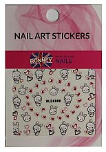 Düfte, Parfümerie und Kosmetik Dekorative Nagelsticker - Ronney Professional Nail Art Stickers