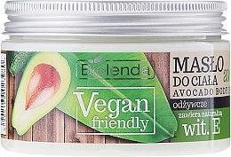 Düfte, Parfümerie und Kosmetik Pflegende Körperbutter mit Avocado - Bielenda Vegan Friendly Avocado Body Butter