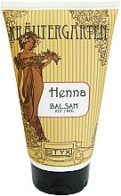 Düfte, Parfümerie und Kosmetik Kräftigende Haarspülung gegen zu rasches Auswaschen des Henna-Farbtones rot - Styx Naturcosmetic Henna Balsam Red