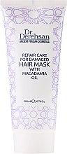 Düfte, Parfümerie und Kosmetik Regenerierende Haarmaske mit Macadamiaöl für geschädigtes Haar - Hristina Cosmetics Dr. Derehsan Hair Mask