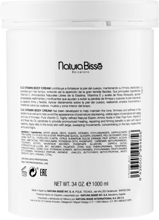 Körpercreme mit Vitaminen - Natura Bisse C+C Vitamin Body Cream — Bild N5