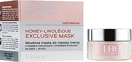 Düfte, Parfümerie und Kosmetik Nährende Gesichtsmaske für Tag und Nacht mit Honig - Lirene Lab Therapy Nourishment Linoleique Exclusive Mask