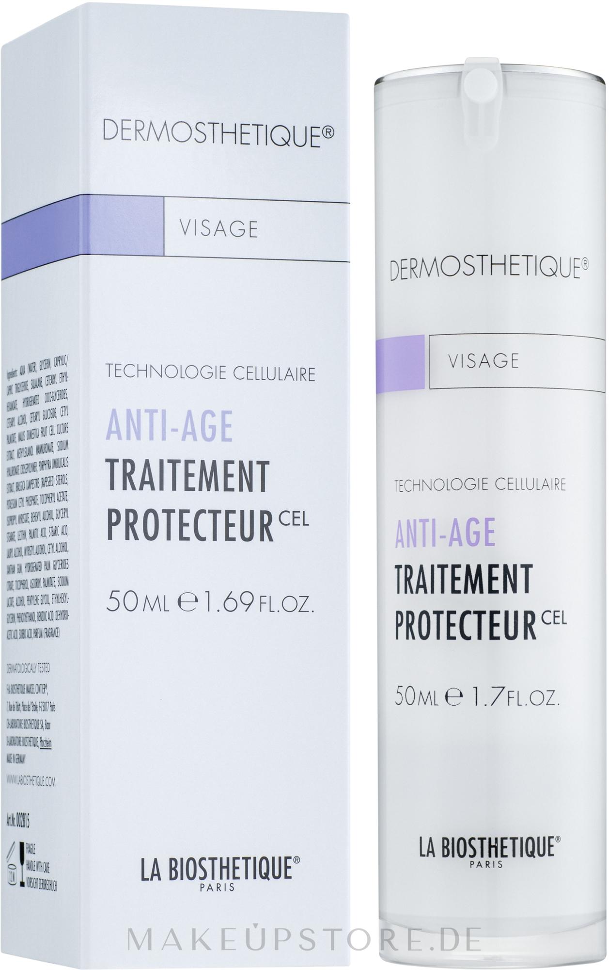 Schützende Anti-Aging Tagescreme - La Biosthetique Dermosthetique Anti-Age Traitement Protecteur — Bild 50 ml