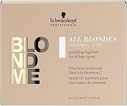 Düfte, Parfümerie und Kosmetik Haarkonzentrat für alle Haartypen mit Vitamin C - Schwarzkopf Professional Blondme All Blondes Vitamin C Shot