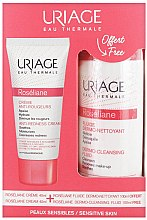 Düfte, Parfümerie und Kosmetik Gesichtspflegeset - Uriage Roseliane (Gesichtscreme 40ml + Gesichtsfluid 100ml)
