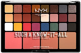 Düfte, Parfümerie und Kosmetik Schminkpalette - NYX Professional Makeup Such A Know-It-All