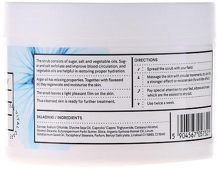 Zucker-Salz Körperpeeling mit Leinsamen- und Arganöl - Vis Plantis Herbal Vital Care Sugar & Salt Body Scrub — Bild N3