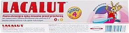 Kinderzahnpasta 0-4 Jahre mit Himbeergeschmack - Lacalut Baby Toothpaste — Bild N2