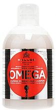 Düfte, Parfümerie und Kosmetik Regenerierendes Shampoo mit Omega-6-Komplex und Makadamia-Öl - Kallos Cosmetics Omega Hair Shampoo