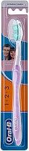 Düfte, Parfümerie und Kosmetik Zahnbürste mittel 1 2 3 Delicate White lila-weiß - Oral-B 1 2 3 Delicat White 40 Medium