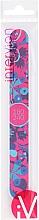 Düfte, Parfümerie und Kosmetik Nagelfeile gerade 180/240 blau-rosa - Inter-Vion