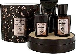 Düfte, Parfümerie und Kosmetik Acqua di Parma Colonia Quercia - Duftset (Eau de Cologne/100ml + Duftkerze/65g + Duschgel/75ml)