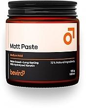 Düfte, Parfümerie und Kosmetik Mattierende Haarpaste mit Keratin mittlerer Halt - Beviro Matt Paste Medium Hold