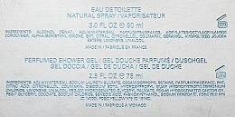 Roberto Cavalli Just Cavalli Him - Duftset (Eau de Toilette/90ml + Duschgel/75ml) — Bild N5