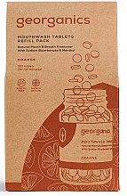 Düfte, Parfümerie und Kosmetik Mundwassertabletten mit Orange - Georganics Mouthwash Tablets Refill Pack Orange (Refill)