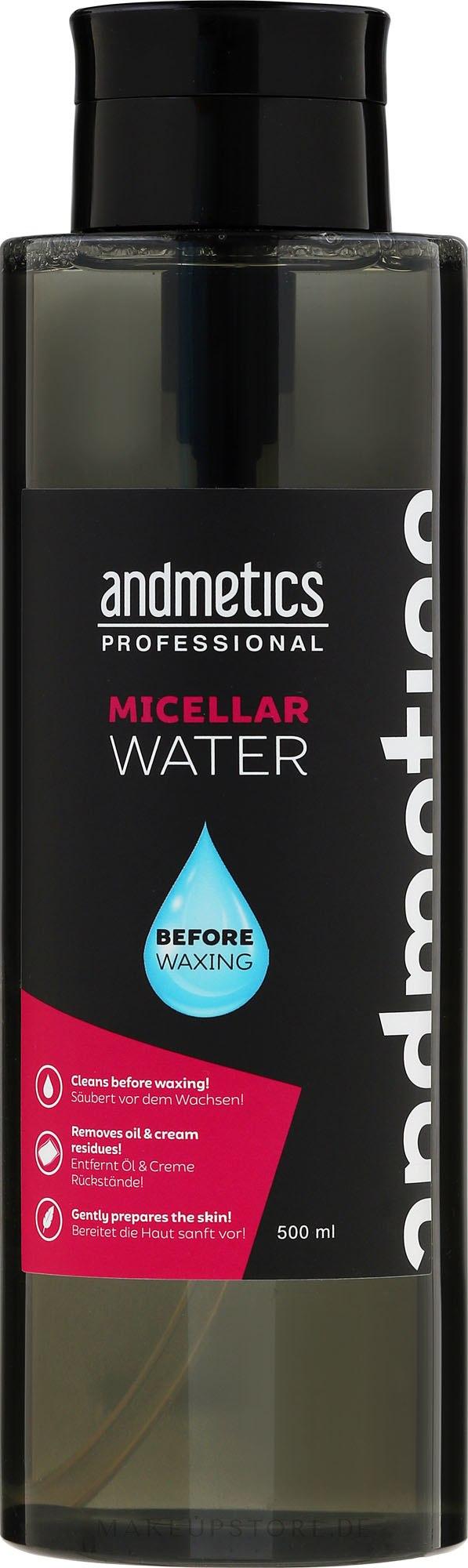 Mizellen-Reinigungswasser - Andmetics Micellar Water — Bild 500 ml