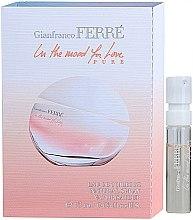 Düfte, Parfümerie und Kosmetik Gianfranco Ferre In The Mood For Love Pure - Eau de Toilette (Probe)