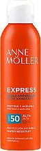 Düfte, Parfümerie und Kosmetik Wasserfestes Körperspray mit Bräunungseffekt SPF 50 - Anne Moller Express Bruma Body Tanning Spray SPF50