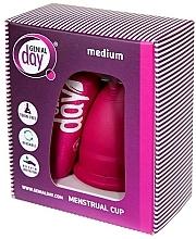 Düfte, Parfümerie und Kosmetik Menstruationstasse M - Genial Day Menstrual Cup