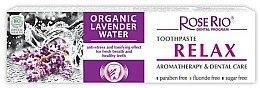 Düfte, Parfümerie und Kosmetik Natürliche Zahnpasta mit organischem Lavendelwasser und Pfefferminzöl - Rose Rio Relax