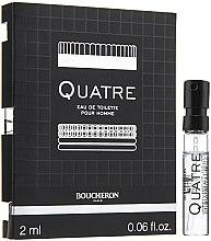 Düfte, Parfümerie und Kosmetik Boucheron Quatre Boucheron Pour Homme - Eau de Toilette (Probe)