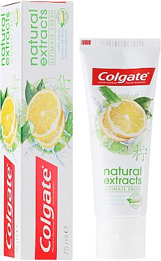Zahnpasta Natural Extracts Ultimate Fresh - Colgate Natural Extracts Ultimate Fresh Lemon — Bild N1
