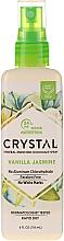 Düfte, Parfümerie und Kosmetik Deospray mit Vanille- und Jasminduft - Crystal Mineral Deodorant Spray Vanilla Jasmine
