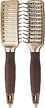Düfte, Parfümerie und Kosmetik Haarbürste - Olivia Garden Nano Thermic Ceramic + ion VTS Brush