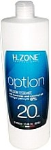 Düfte, Parfümerie und Kosmetik Oxydant Creme 6% - H.Zone Option Oxy 20 Vol.