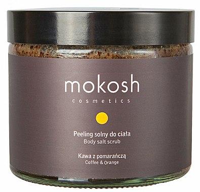 Körpersalzpeeling Kaffee und Orange - Mokosh Cosmetics Body Salt Scrub Coffee & Orange — Bild N1