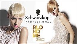 Blond Weißkaschierungscreme - Schwarzkopf Professional BlondMe White Blending — Bild N4
