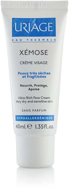 Reichhaltige pflegende, schützende und beruhigende Gesichtscreme für sehr trockene und empfindliche Haut - Uriage Xemose Face Cream — Bild N1