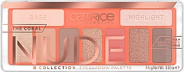 Düfte, Parfümerie und Kosmetik Lidschattenpalette - Catrice The Coral Nude Collection Eyeshadow Palette