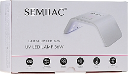 Düfte, Parfümerie und Kosmetik UV/LED Lampe 36 Watt weiß - Semilac