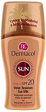 Düfte, Parfümerie und Kosmetik Wasserfeste Sonnenschutzmilch SPF 20 - Dermacol Water Resistant Sun Milk SPF 20