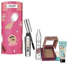 Düfte, Parfümerie und Kosmetik Make-up Set - Benefit Bring Your Own Beauty Set (Mascara 8g + Augenbrauengel 3g + Bronzierpuder 8g + Gesichtsprimer 7.5ml)