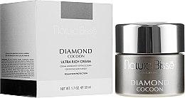 Düfte, Parfümerie und Kosmetik Feuchtigkeitsspendende und reichhaltige Gesichtscreme mit Kollagen und Elastin - Natura Bisse Diamond Cocoon Ultra Rich Cream