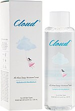 Düfte, Parfümerie und Kosmetik Intensiv feuchtigkeitsspendendes Gesichtstonikum - Cloud9 All Alive Moisture Toner