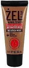 Düfte, Parfümerie und Kosmetik Antibakterielles Handgel mit Glycerin, Aloe Vera und Babassuöl - Vipera Antibacterial Hand Gel