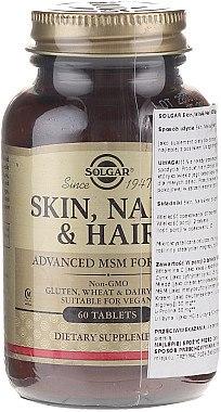 Nahrungsergänzungsmittel-Komplex für Gesicht, Haar und Nägel - Solgar Solgar Skin Nails And Hair Formula — Bild N3