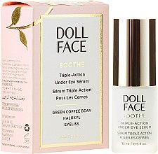 Düfte, Parfümerie und Kosmetik Glättendes Serum für die Augenpartie - Doll Face Soothe Under Eye Puffiness Serum