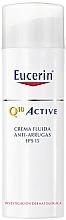 Düfte, Parfümerie und Kosmetik Leichtes Anti-Falten Gesichtscreme-Fluid für empfindliche, normale und Mischhaut SPF 15 - Eucerin Q10 Active Fluid
