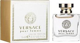 Düfte, Parfümerie und Kosmetik Versace Pour Femme - Eau de Parfum (mini)