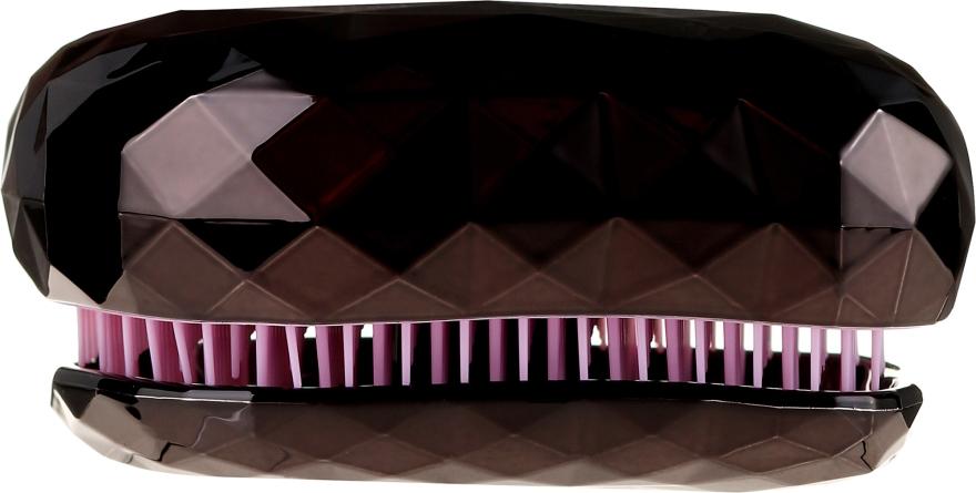 Entwirrbürste schwarz-rosa - Twish Spiky 4 Hair Brush Diamond Black — Bild N2